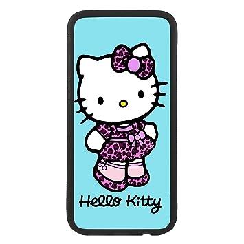 Desconocido Funda Carcasa para móvil Hello Kitty Leopardo ...