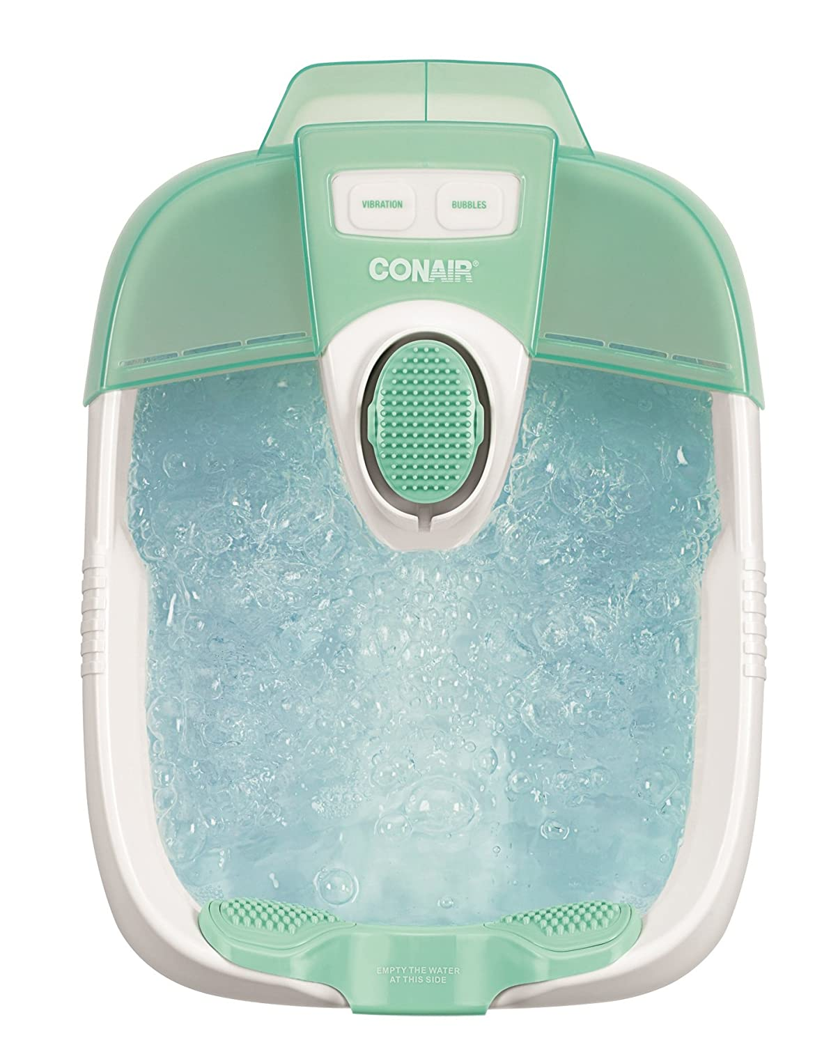 CONAIR CNRFB30R, Foot Bath with Pedicure Massage