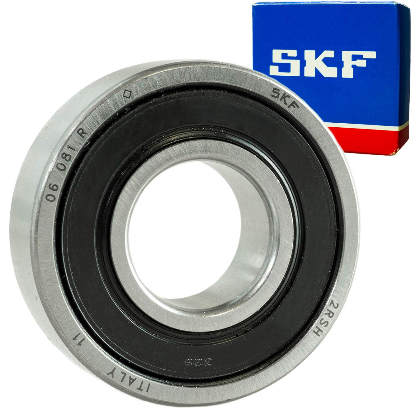 SKF 6205-2RS SEALED BEARING 25x52x15mm
