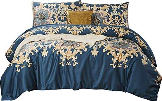Amazon.com: Softta Full Size Luxury European Floral Bedding Sets