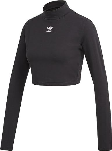 Relativo Descriptivo Bastante  adidas SC Crop LS Top - Top, Mujer: Amazon.es: Deportes y aire libre