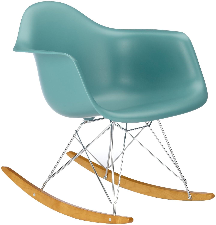 Vitra 4401130021 Stuhl RAR Eames Plastic Armchair Gestell Verchromt Ocean:  Amazon.de: Küche U0026 Haushalt