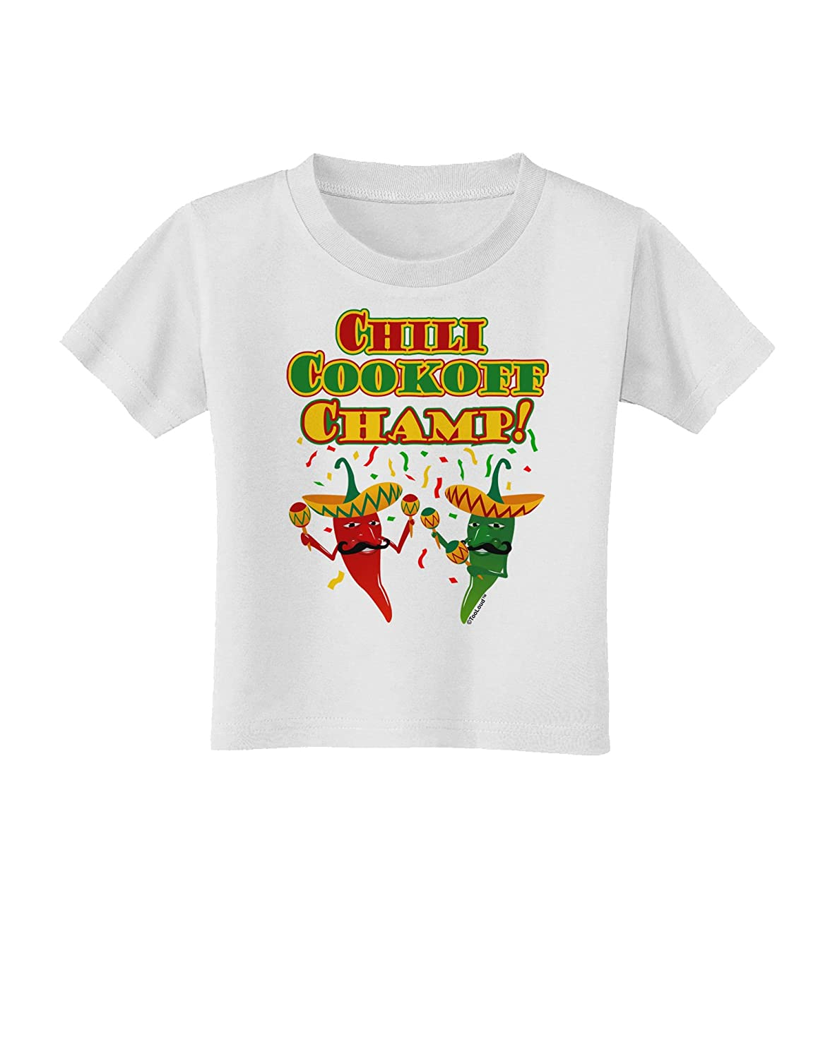 Chile Peppers Toddler T-Shirt TooLoud Chili Cookoff Champ