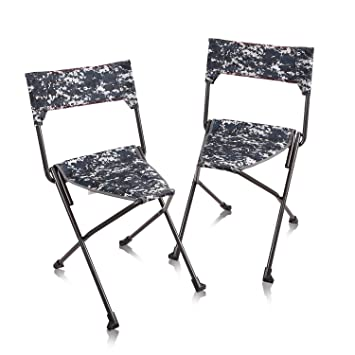 Brilliant Redcamp 2 Pack Tripod Chairs Folding Lightweight Portable Tripod Seat Stool With Back Small Camping Chairs For Hunting Outdoor Backpacking Ocoug Best Dining Table And Chair Ideas Images Ocougorg