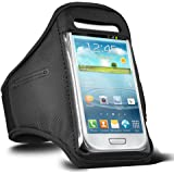 Black Armband For Samsung Galaxy S3 / S4  / S5 / S6 / S6 Edge / Galaxy S7 Running Armband Cover Case Holder Gym Workout Sport