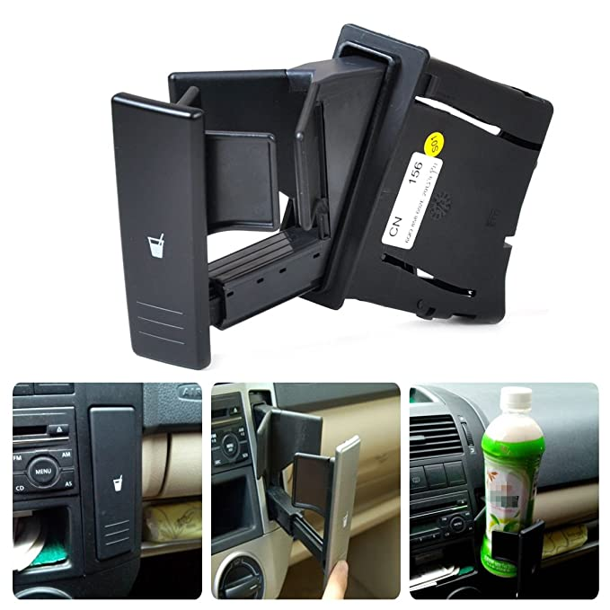 Amazon.com: beler Center Console Water Drink Cup Holder 6Q0 858 602 ...