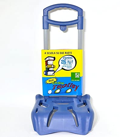 8c52385796 EASY TROLLEY MAXI JUNIOR BLU PORTATA 26 KG.: Amazon.it: Giochi e giocattoli