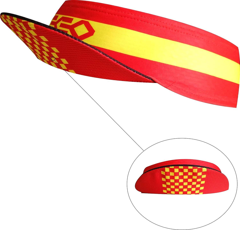 model LAGOS fast drying Headband with visor elastic and very absorbent PACK 2 units visors Ekeko