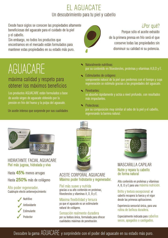 Crema Hidratante Facial AGUACARE de aceite de Aguacate 100 % Natural: Amazon.es: Belleza