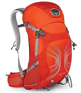Osprey Paquetes Stratos 26 Mochila, color Solar Flare Orange, tamaño M/L: Amazon.es: Deportes y aire libre
