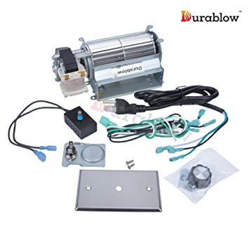 FK21 Replacement Fireplace Blower Fan Kit for Heatilator