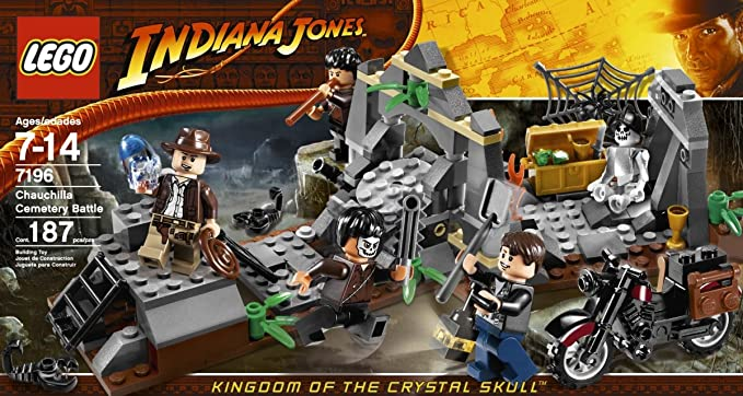 LEGO Indiana Jones Chauchilla Cemetery Battle (7196): Amazon.es: Juguetes y juegos