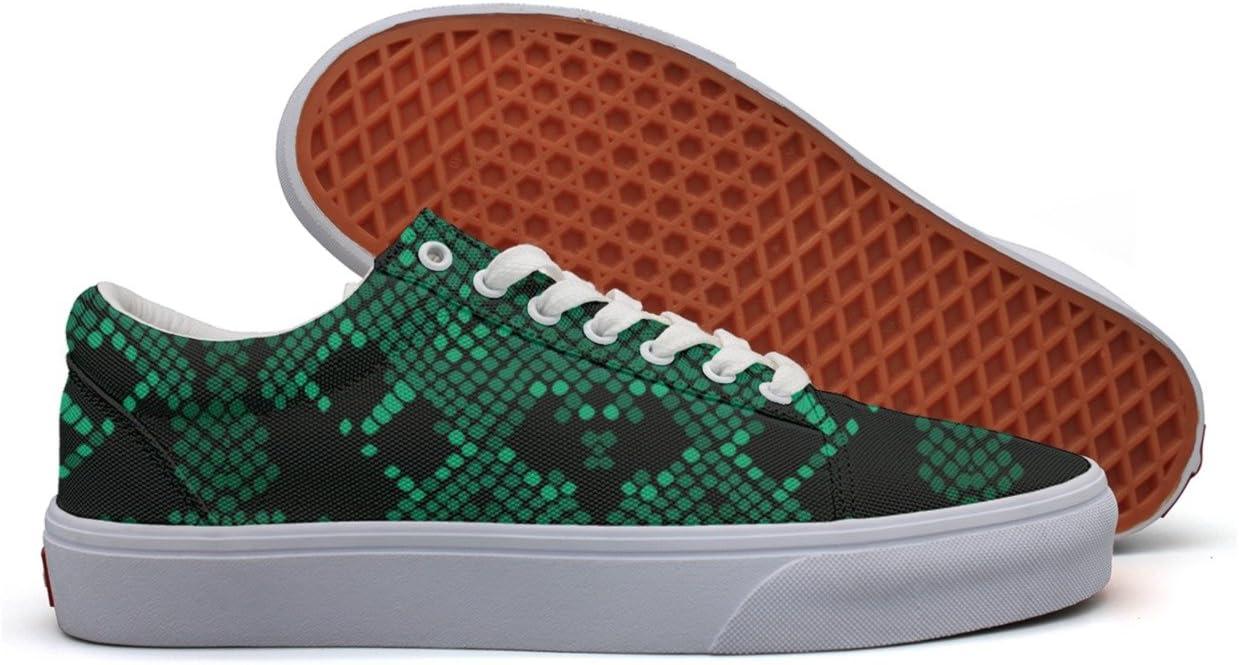 SERXO Artificial Green Viper Snake Skin