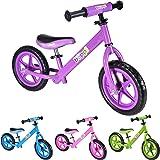 Boppi No Pedal BMX Purple Balance Bike for kids