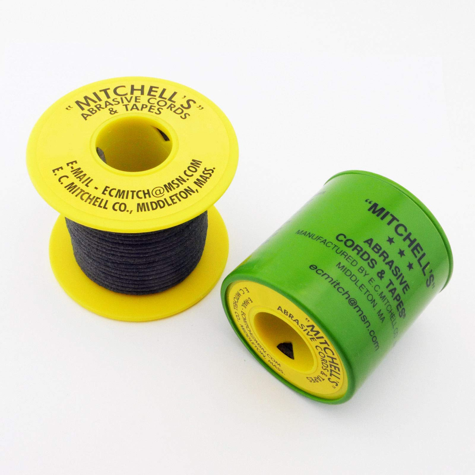 Mitchell's Abrasive Emery Tape No. 57, 180 Grit, 1/8'' X 50 Ft. by Mitchell's
