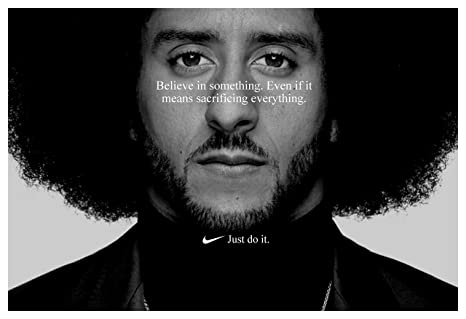 cdec0078b46 Image Unavailable. Image not available for. Color  PosterWarehouse2017 Colin  Kaepernick  JUST DO IT  Replica Nike AD Poster