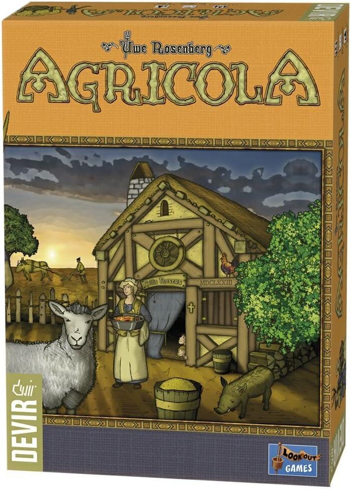 Devir - Agrícola, Juego de Tablero (222609): Amazon.es: Juguetes y ...
