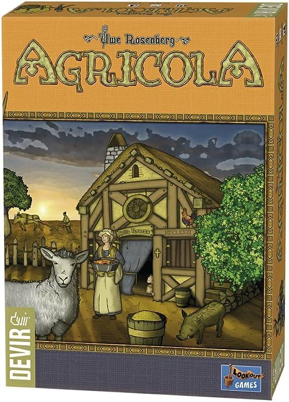 Devir - Agrícola, Juego de Tablero (222609): Amazon.es: Juguetes y juegos
