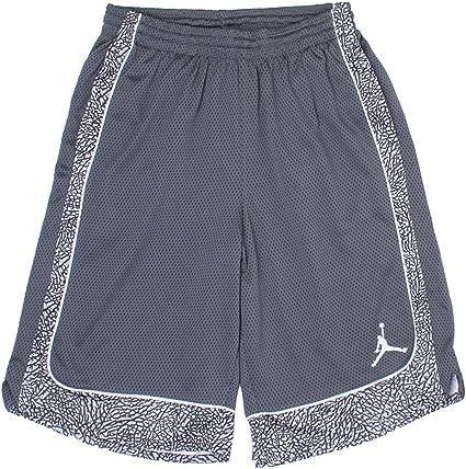 Jordan Nike Boys Elephants Print Dri-Fit Basketball Shorts ...