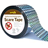 Parkland® 350ft Bird Repellent Scare Tape - Keep Away Pigeons, Ducks, Crows and More - Deterrent Works with Netting And Spikes (1)