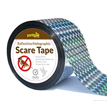 Parkland® 350ft Bird Repellent Scare Tape   Keep Away Pigeons, Ducks, Crows  And