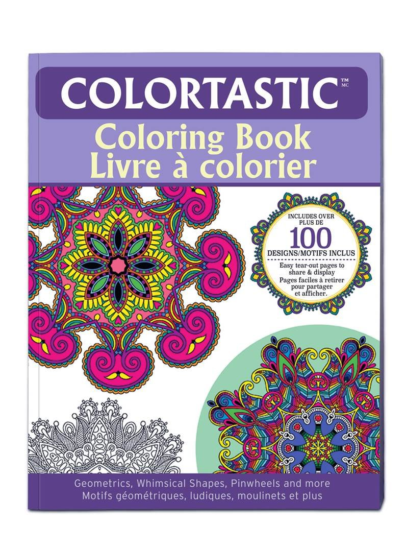 Whimsical designs coloring book - Amazon Com Colortastic Coloring Book With Coloriig Pencils Includes Over 100 Designs Shapes Geometrics Whimsical Shapes Pinwheels And More Easy