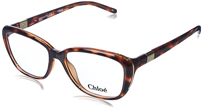 Amazon.com: Chloe anteojos ce2623 219 tortuga 52 MM: Clothing