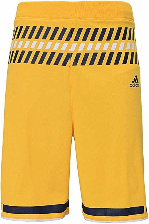 University of Michigan Wolverines Youth Yellow Replica Shorts