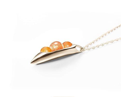 Three Stone Pendant Raw Sunstone Pendant For Her Orange Kyanite Pendant 18k Gold Plated Pendant Red Onyx Pendant Brass Pendant KK090