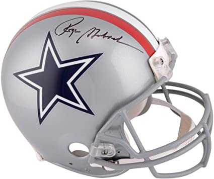 Image Unavailable. Image not available for. Color  Roger Staubach Dallas  Cowboys Autographed Riddell 1976 Throwback Pro Line Helmet - Fanatics  Authentic ... 7b06271ea