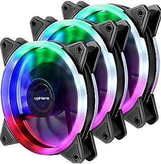 Amazon.com: LEDdess 120mm Case Fan Light,LED Silent Fan ...