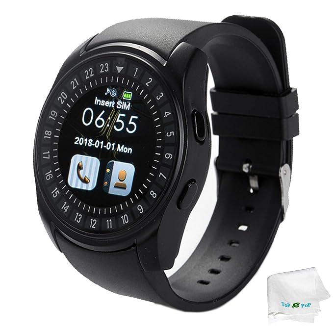 Smart Watch Bluetooth Wrist Smartwatch Touch Screen Unlocked Watch with Sim  Card Slot Pedometer Fitness Tracker 112f283a03