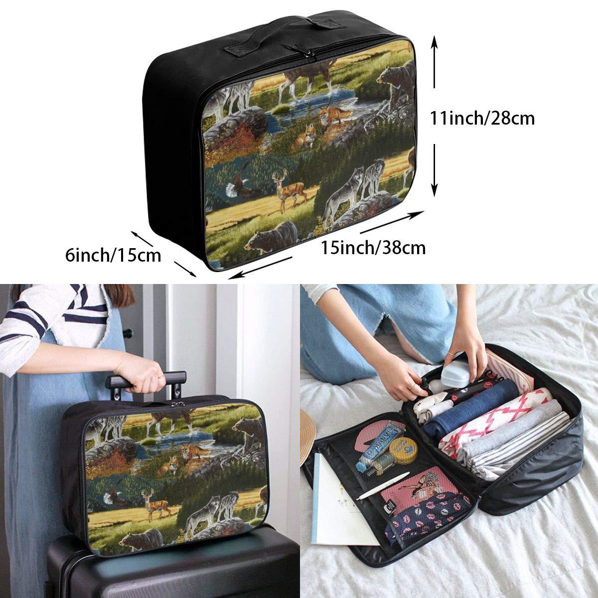 Retro Newspaper Travel Duffle Bag Large Lightweight Weekender Bag Nylon Toiletry Bag Luggage Duffel Bag For Sports Holiday Tote Bag In Trolley Handle Gym