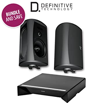 definitive aw6500. definitive technology w amp amplifier + aw 6500 all-weather outdoor speakers bundle (pair aw6500 e