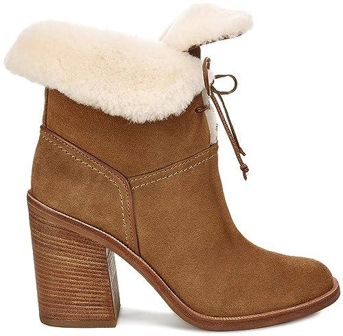 63508c78957 UGG Womans - Boots JERENE - chestnut