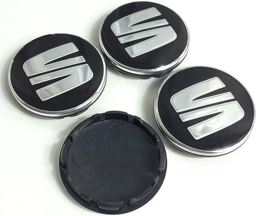 WE-WIN Drehmoment Rad Trim Set Glanz schwarz Set von 1 Naben Kappen Abdeckungen f/ür Tesla Model 3