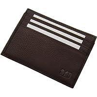 Extra Flaches XL Leder Ausweisetui/Ausweishülle/Kreditkartenetui KFZ-Schein MJ-Design-Germany in Kalb-, Büffel- oder gegerbtem Rinderleder