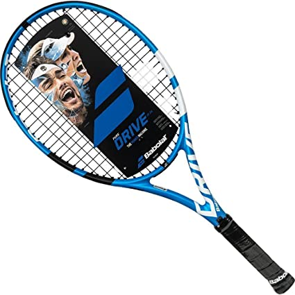 "Babolat Pure Drive 26 Junior Blue/White Tennis Racquet (4"" Inch Grip)"