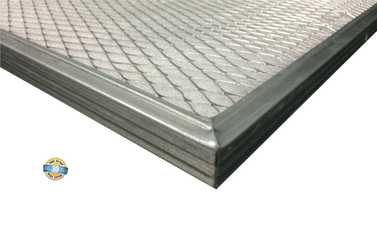 14x25x1 Lifetime Air Filter - Electrostatic Washable Permanent A/C Silver Steel Frame 65% more efficiency by Kilowatts Energy Center (Image #2)