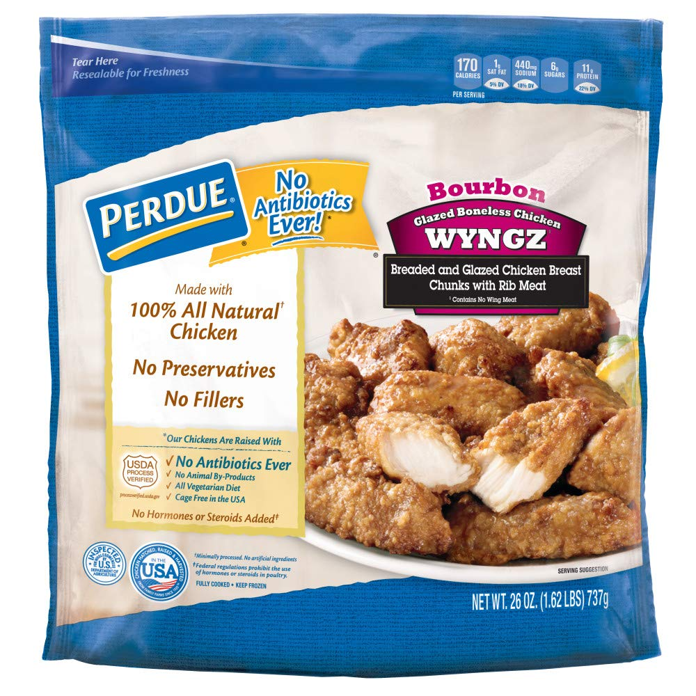 Perdue Bourbon Style Boneless Chicken Wyngz, 26 oz. (Frozen)
