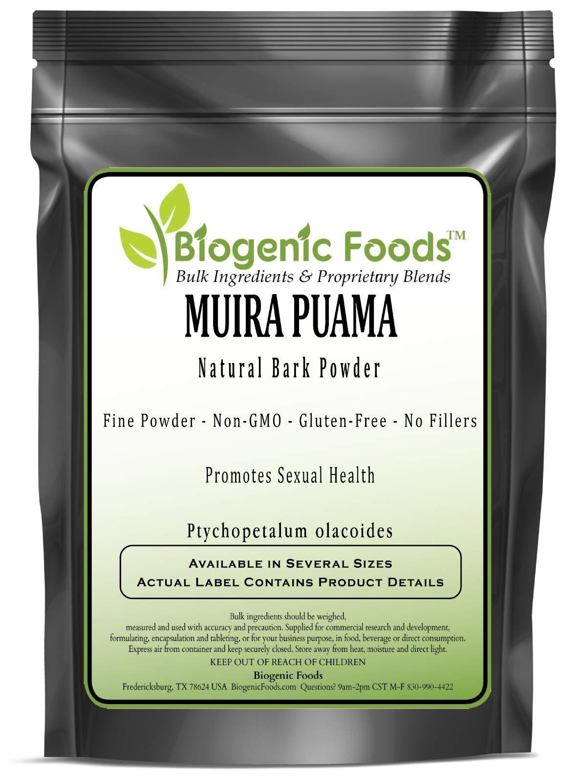 Muira Puama - Natural Bark Powder (Ptychopetalum olacoides), 10 kg