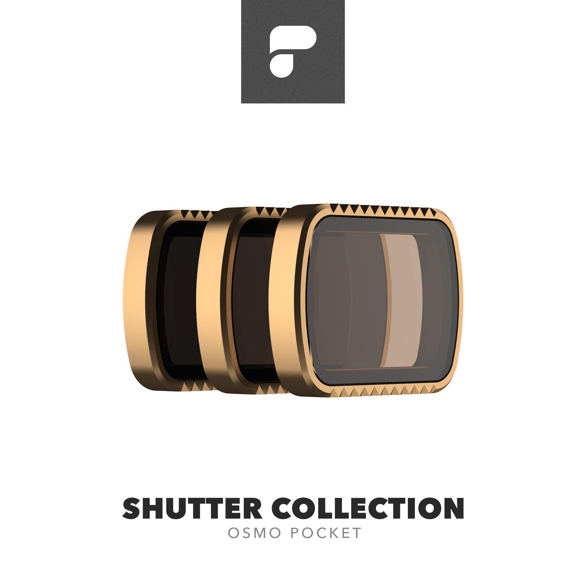 PolarPro Cinema Series Filter 3-Pack - Shutter Collection for DJI Osmo Pocket