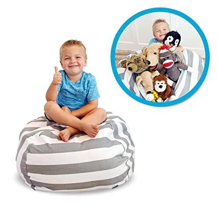 Pleasant Soothing Company Stuffed Animal Bean Bag Chair For Kids Extra Large Empty Beanbag Kid Toy Storage Covers For Your Childs Stuffed Animals And Pdpeps Interior Chair Design Pdpepsorg