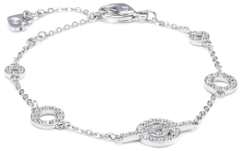 02a5ebb3e4084 Swarovski Purity 1121075 Swarovski Crystal 15.5 centimetres Metal Bracelet