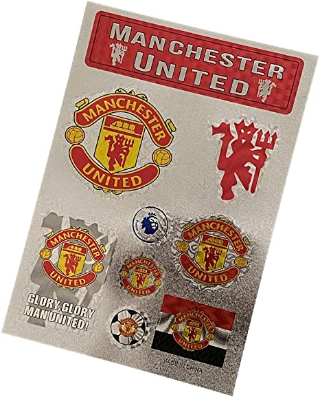 Manchester United FC UEFA Champions Sticker Decal 4 x 4 Fun Shopes Decals