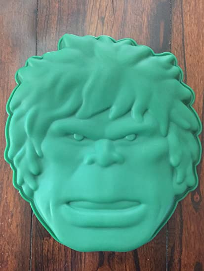 Amazoncom Hulk the Avengers Cake Pan Silicone Mold Kitchen Dining