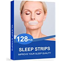 128Packs Sleep Strips for Sleeping,Sleep Mouth Tape for Less Mouth Breathing,Mouth Breathing Tape for Better Nose…