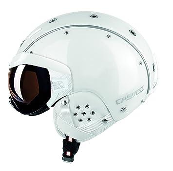 Casco SP-6 Vautron visera casco de esquí y snowboard, blanco