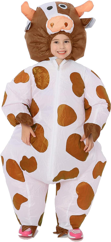 Amazon.com: Disfraces inflables de vaca GOPRIME, talla única ...