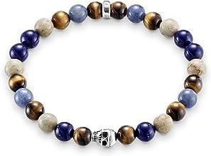 bracelet tête de mort femme 3